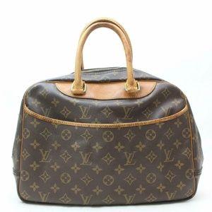 Auth Louis Vuitton Deauville Satchel Bag #2097L17
